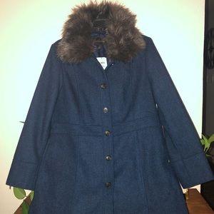 Banana Republic Navy blue NWT winter coat.